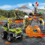 lego wulkan